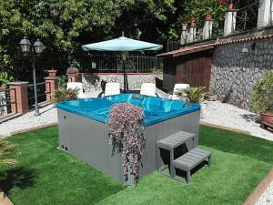 The swimming pool at or near B&B Villa Teresa