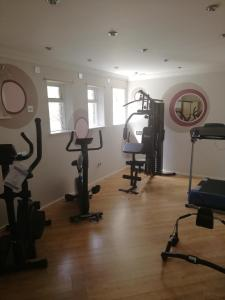 The fitness center and/or fitness facilities at Eden Spa Hotel