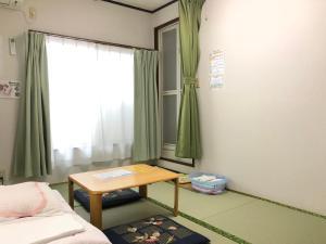 A seating area at Minshuku Kaisei 1