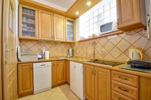 Kuchnia lub aneks kuchenny w obiekcie Apartament Zuzia