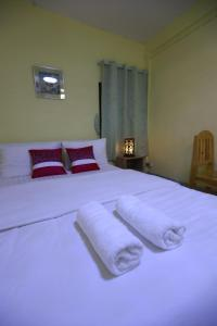 A bed or beds in a room at D House hostel
