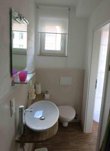 A bathroom at Altstadt-Apartment