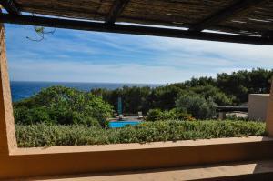 A balcony or terrace at Relais Euterpini