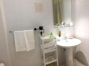 A bathroom at Appartamenti Monacò