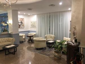 Posezení v ubytování Grand Hotel Playa