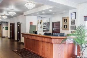 The lobby or reception area at Comfort Inn & Suites Salem