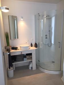 A bathroom at Suite 336