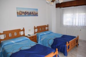 Cama o camas de una habitación en El Molino