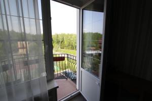 Балкон или терраса в Zolotaya 7 Hotel Domodedovo