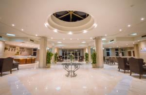 The lobby or reception area at Sunny Days Mirette Family Resort