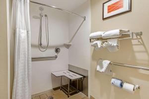 A bathroom at Comfort Inn Yulee - Fernandina Beach