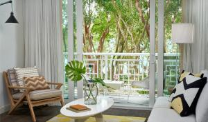A seating area at Baker's Cay Resort Key Largo, Curio Collection By Hilton