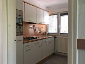 A kitchen or kitchenette at Vakantiehuis Bikkel Terschelling