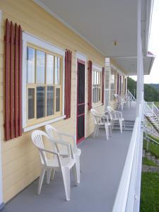 Balcon ou terrasse dans l'établissement Hotel Motel Bon Accueil