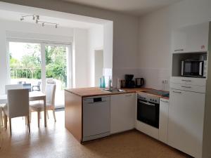 Küche/Küchenzeile in der Unterkunft Haus Roy