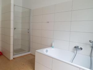 Ein Badezimmer in der Unterkunft Haus Roy