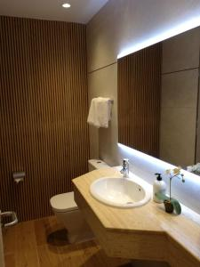 Un baño de Astorga Boutique Hostal