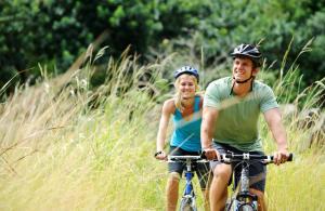 Cykling ved Nørre Vosborg eller i nærheden