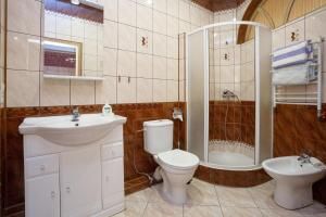 A bathroom at Пиллкоппен