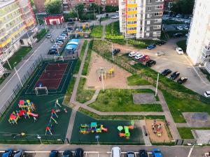 A bird's-eye view of Alisa Apartment