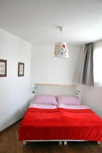 Un ou plusieurs lits dans un hébergement de l'établissement Bratislava Castle Hill Apartment