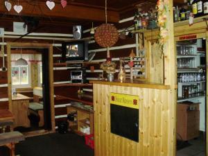 A kitchen or kitchenette at Chata Šohajka