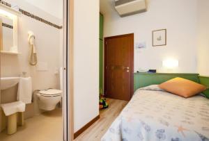 Koupelna v ubytování Hotel Excelsior