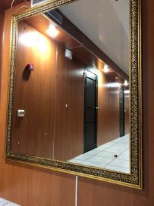 A bathroom at Hostel Shokolad
