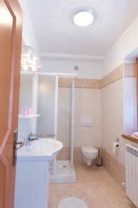 Een badkamer bij Tourist farm Tonin