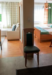 Ein Bett oder Betten in einem Zimmer der Unterkunft Apartment am Bahnhof