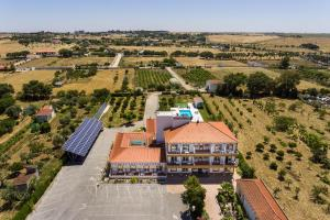 Uma vista aérea de Graca Hotel
