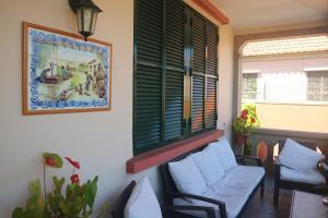 Uma área de estar em Quinta Mar & Sol