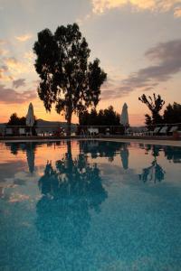 The swimming pool at or near Elektra Hotel