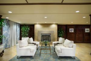The lobby or reception area at The Shores Resort & Spa