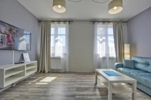 A seating area at Apartament Gemini