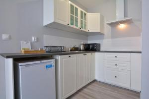 A kitchen or kitchenette at Apartament Gemini