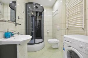 A bathroom at Apartament Gemini