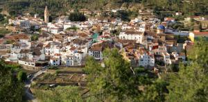 A bird's-eye view of La Curriola vivienda rural de alquiler
