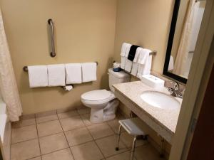 A bathroom at Cobblestone Inn & Suites - Holyoke