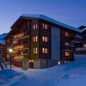 Hotel La Cabane im Winter