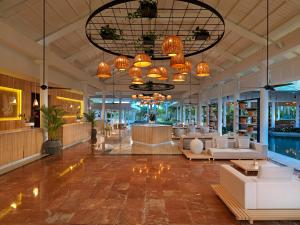 The lobby or reception area at Meliá Punta Cana Beach Resort Adults Only -All Inclusive