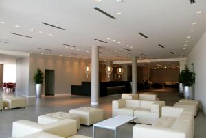 The lobby or reception area at Tag Hotel