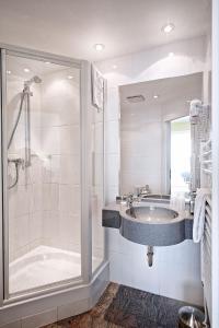 Ein Badezimmer in der Unterkunft Hotel Perekop