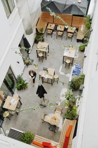 A bird's-eye view of INK Hotel Amsterdam - MGallery