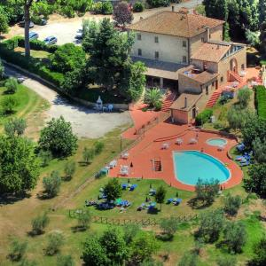 A bird's-eye view of Hotel Residence Villa Rioddi