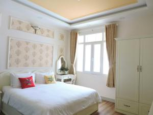 Chez Mimosaにあるベッド