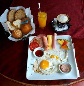 Ontbijt beschikbaar voor gasten van Hotel Don Andres