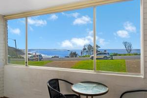 A balcony or terrace at The Beach House, 1/65 Pacific Street, Port Macquarie