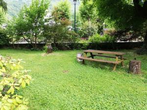 Jardin de l'établissement l'escalette
