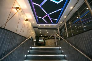 The lobby or reception area at Best Western Plus Nottingham City Centre